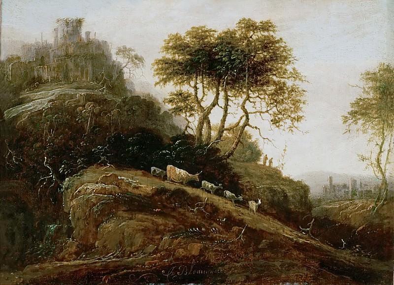 Adriaen Bloemaert (1609-1666) -- Mountain Landscape. Kunsthistorisches Museum
