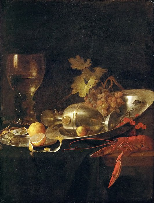 Jan Davidsz. de Heem (1606-1683 or 1684) -- Breakfast Still Life. Kunsthistorisches Museum