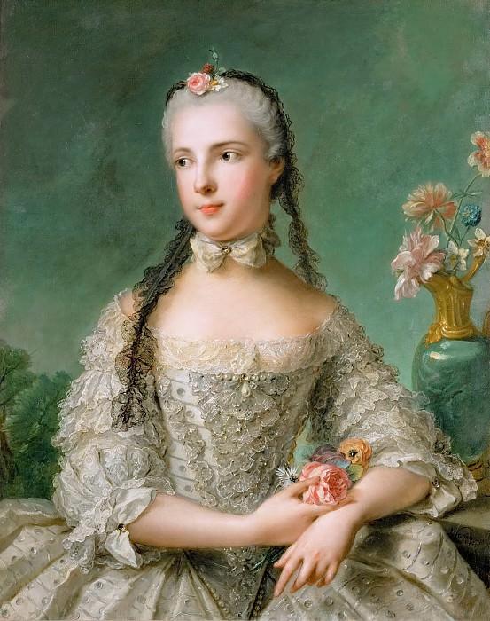 Jean-Marc Nattier -- Princess Maria Isabella of Parma. Kunsthistorisches Museum