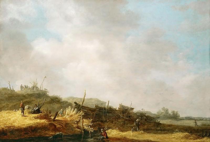 Jan van Goyen (1596-1656) -- Landscape with Dunes. Kunsthistorisches Museum