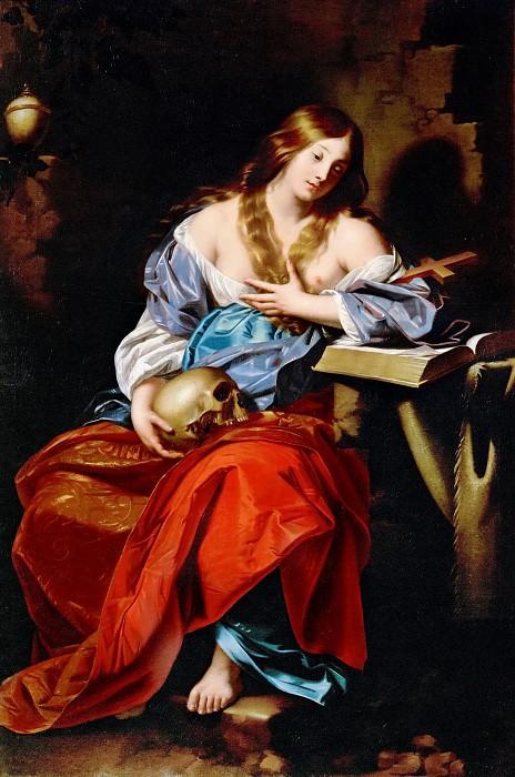 Nicolas Regnier (c. 1590-1667) -- Penitent Mary Magdalen. Kunsthistorisches Museum