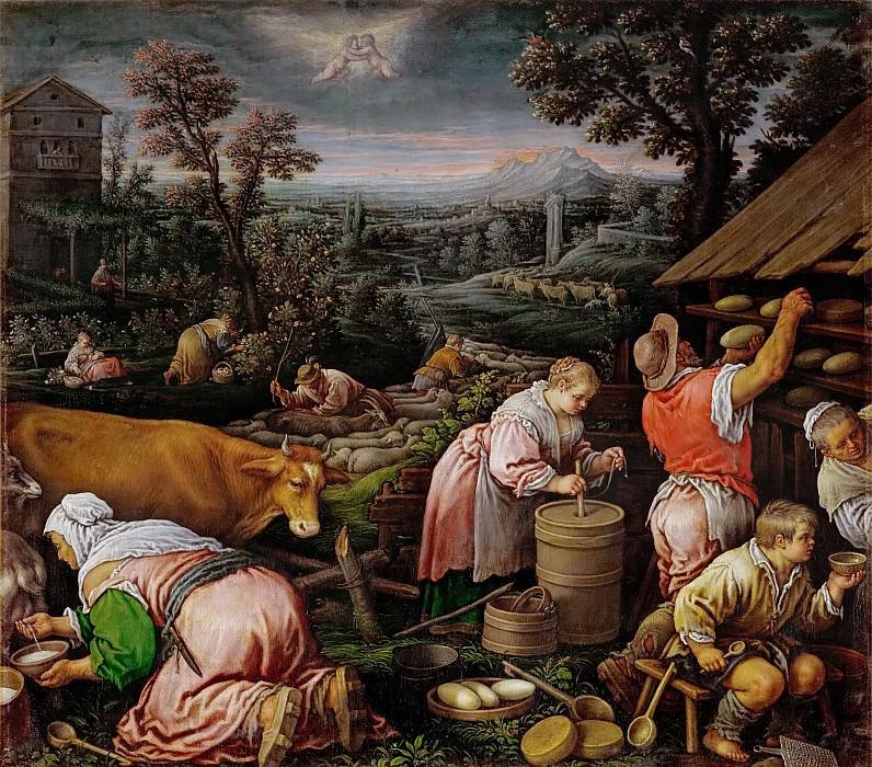 Leandro Bassano (1557-1622) -- May. Kunsthistorisches Museum