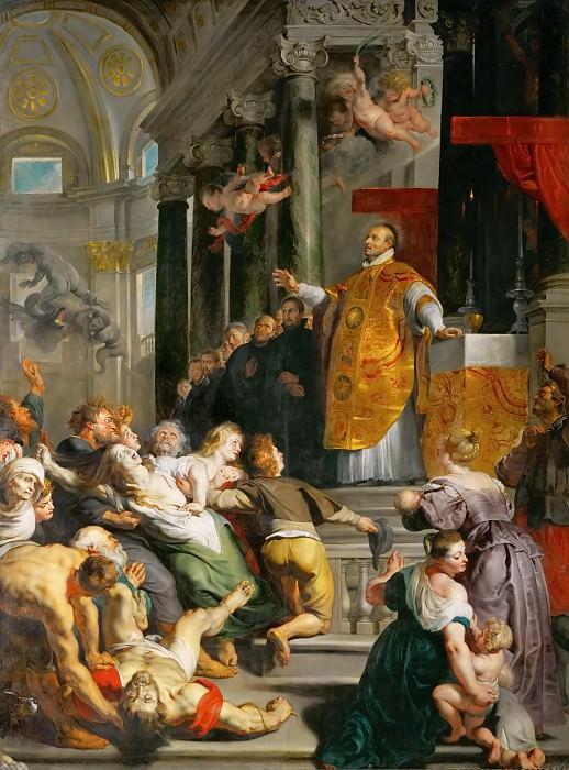 Miracle of Saint Ignatius Loyola. Peter Paul Rubens
