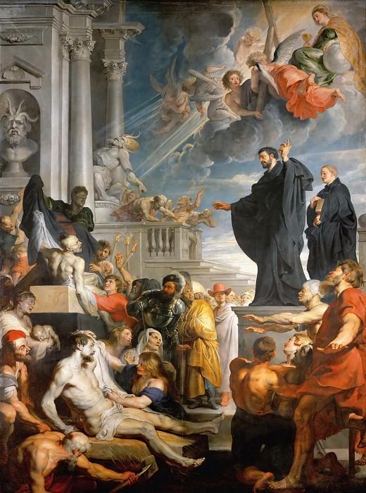 Рубенс - Чудо св Франциска Ксаверия. Музей истории искусств