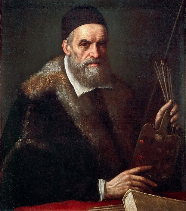 Leandro Bassano (1557-1622) -- Portrait of Jacopo Bassano il Vecchio (c.1510--1592). Kunsthistorisches Museum