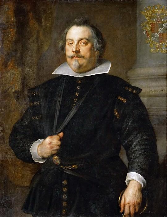 Anthony van Dyck -- Francisco de Moncada, Marqués de Aytona (Marqués Francisco de Moncada). Kunsthistorisches Museum