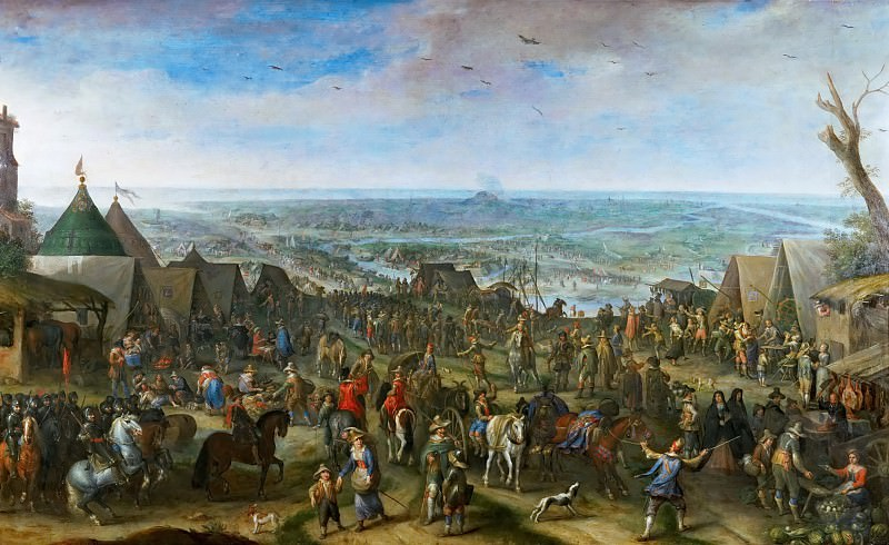 Peeter Snayers -- Field of Battle. Kunsthistorisches Museum