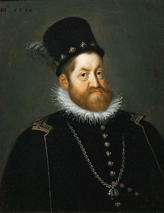 Joseph Heintz the Elder (1564-1609) -- Emperor Rudof II. Kunsthistorisches Museum