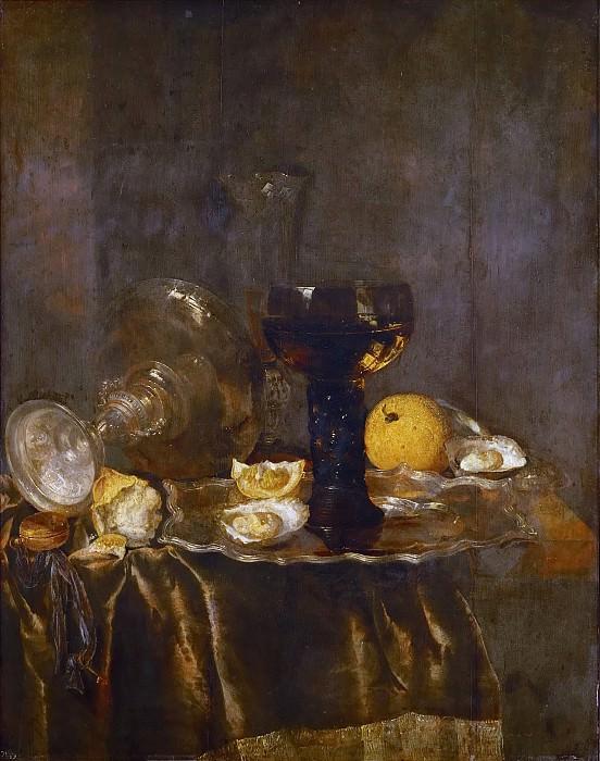 Abraham van Beveren (1620-1690) -- Breakfast Still Life. Kunsthistorisches Museum