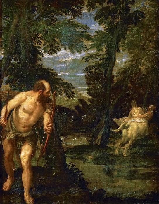 Paolo Veronese -- Hercules, Deianira and the Centaur Nessus. Kunsthistorisches Museum