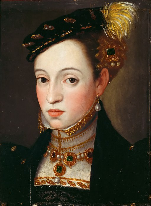 Archduchess Magdalena (1532-1590), daughter of Emperor Ferdinand I. Giuseppe Arcimboldo