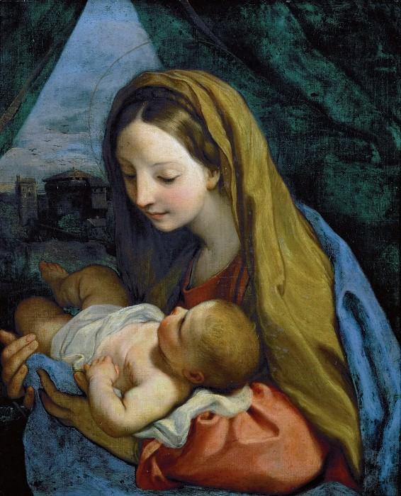 Карло Маратти - Мадонна с младенцем. Музей истории искусств