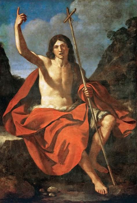 Guercino (1591-1666) -- John the Baptist. Kunsthistorisches Museum