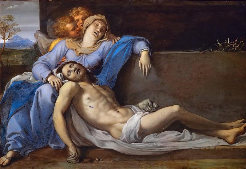 Annibale Carracci (1560-1609) -- Pietà. Kunsthistorisches Museum