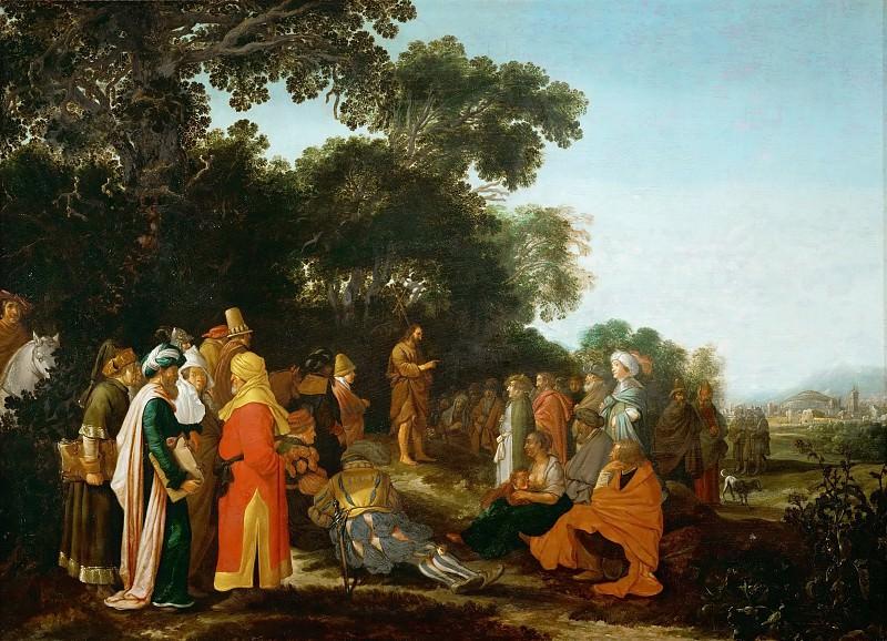 Эсайас ван де Вельде - Проповедь Иоанна Крестителя. Музей истории искусств