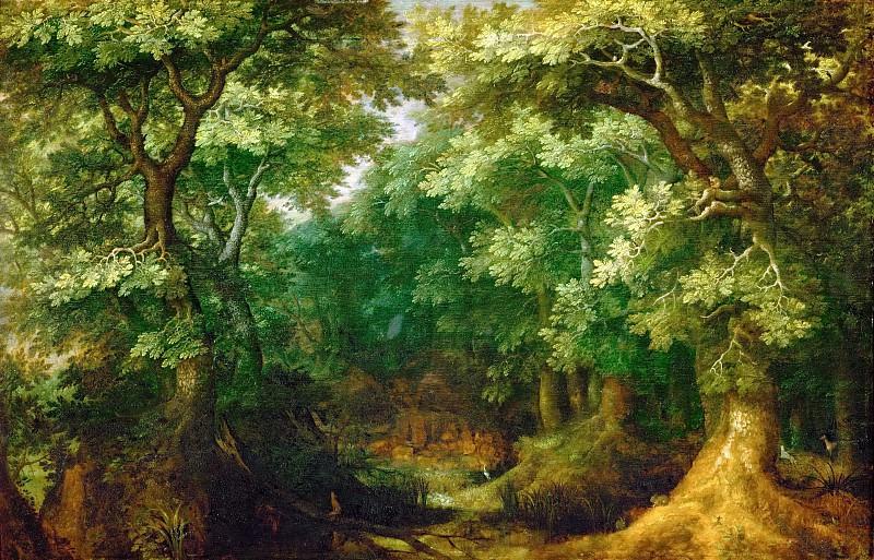 Gillis van Coninxloo III -- Wooded Landscape. Kunsthistorisches Museum