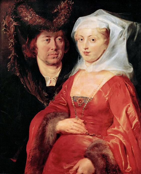 Saint Bega and Her Husband Ansegius. Peter Paul Rubens