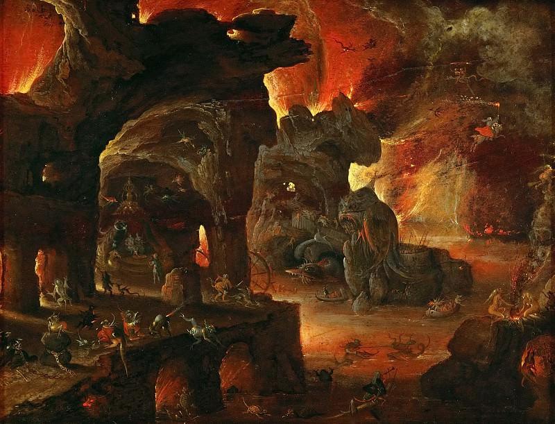 Roelandt Savery (1576-1639) -- Orpheus in the Underworld. Kunsthistorisches Museum