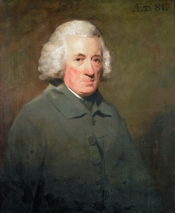 Henry Raeburn (1756-1823) -- William Law of Elvinston (1714-1806). Kunsthistorisches Museum