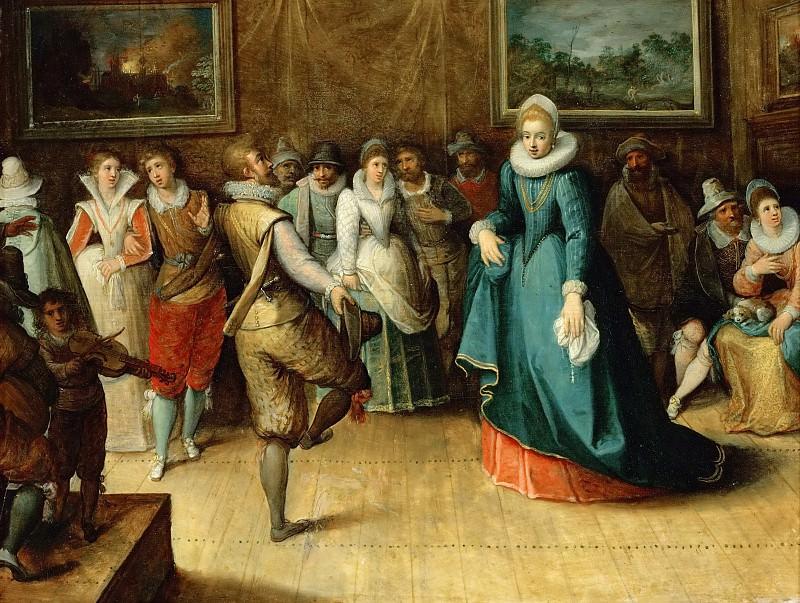 Hieronymus Francken II -- A Dancing Party. Kunsthistorisches Museum