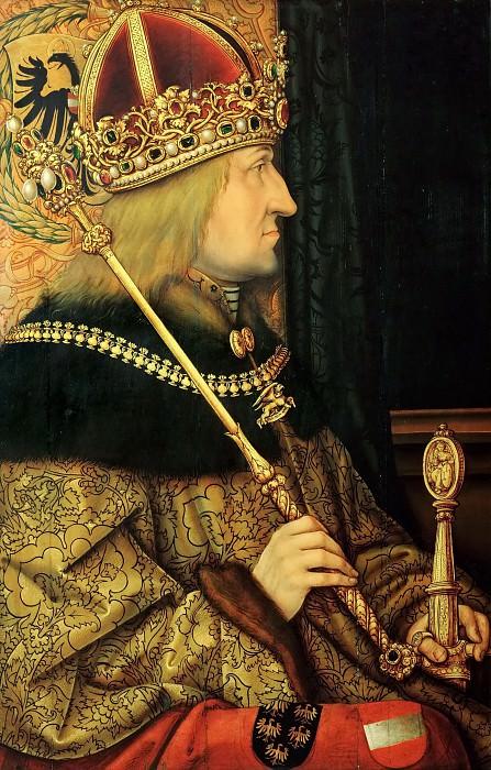 Hans Burgkmair the Elder (1473-1531) -- Emperor Frederick III. Kunsthistorisches Museum