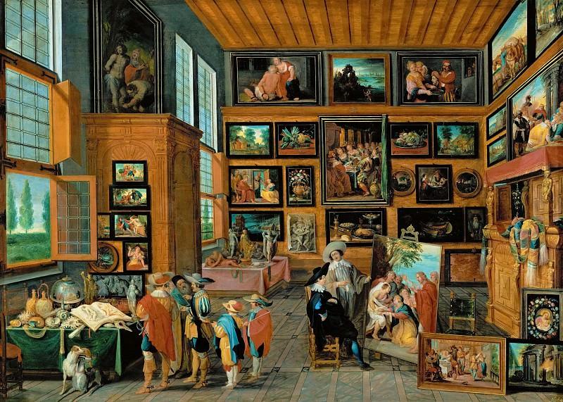 Hans Jordaens III (c. 1595-1643) -- Kunstkammer. Kunsthistorisches Museum