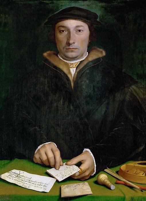 Hans Holbein the Younger (1497 or 1498-1543) -- Dirck Tybis. Kunsthistorisches Museum
