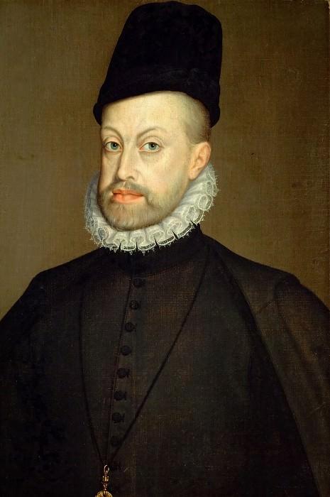 Софонисба Ангишола - Филипп II, король Испании. Музей истории искусств