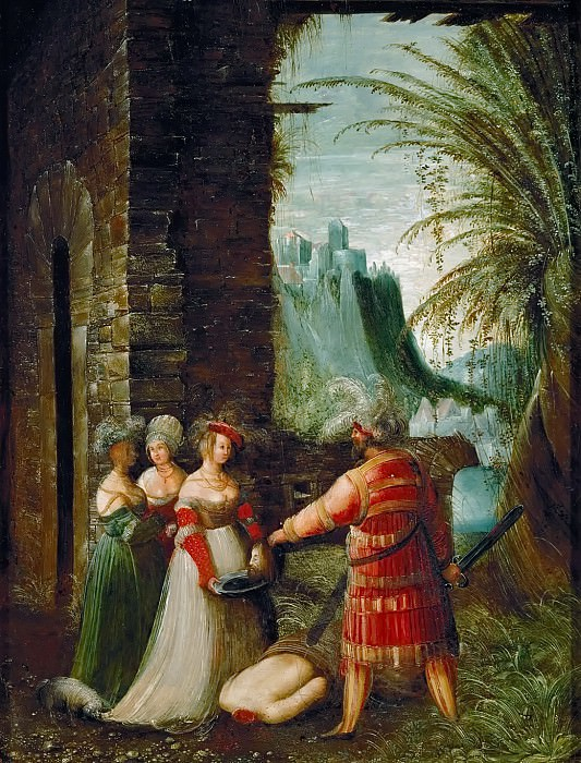 Albrecht Altdorfer -- Salome with the Head of John the Baptist. Kunsthistorisches Museum