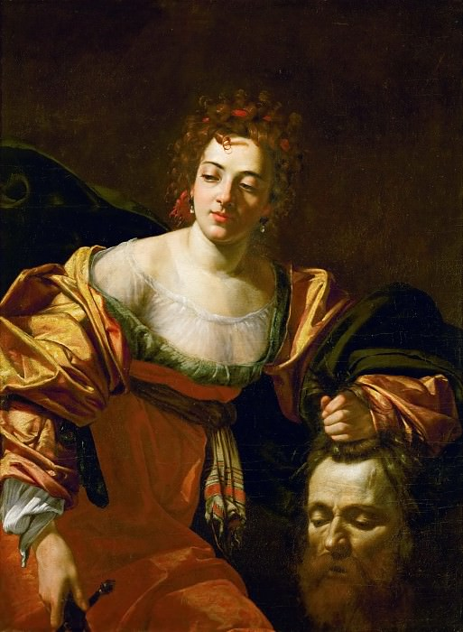 Simon Vouet -- Judith with the head of Holofernes. Kunsthistorisches Museum