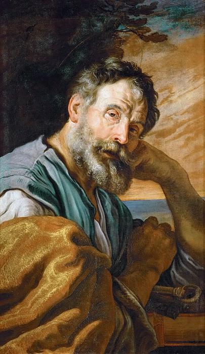 Domenico Fetti -- Saint Peter Repenting. Kunsthistorisches Museum