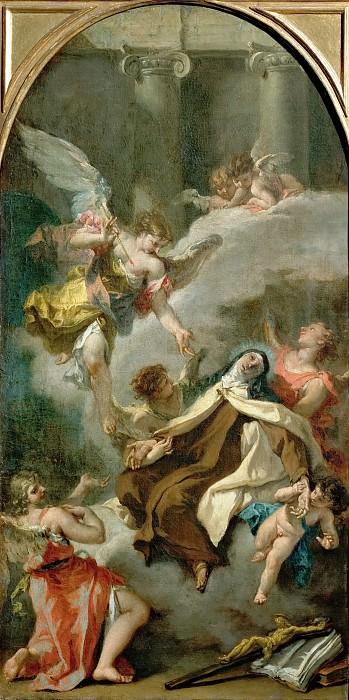 Sebastiano Ricci (1659-1734) -- Ecstasy of Saint Theresa. Kunsthistorisches Museum