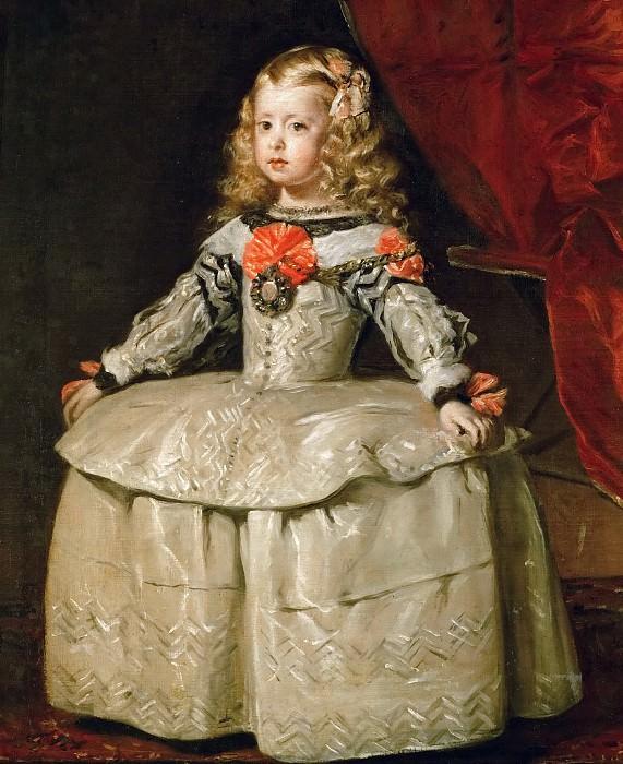 Infanta Margaraita. Diego Rodriguez De Silva y Velazquez
