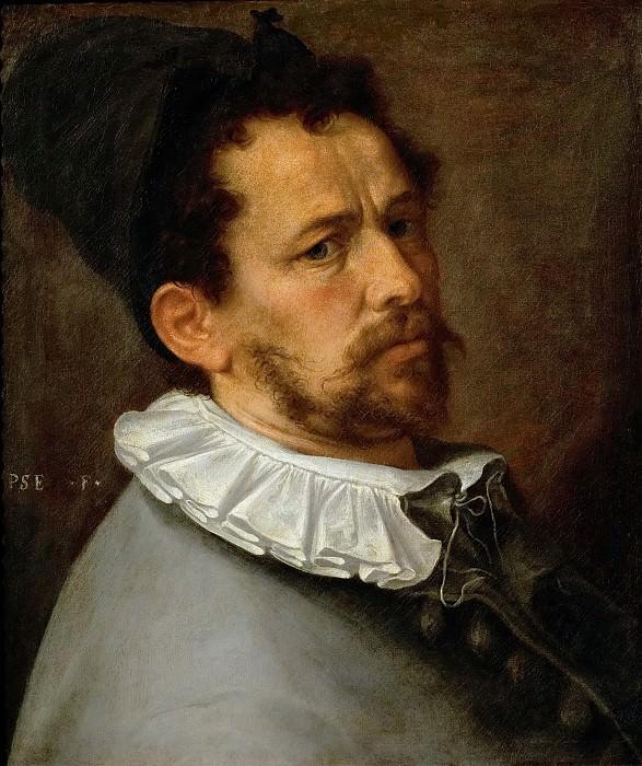 Bartholomaeus Spranger -- Self-portrait. Kunsthistorisches Museum