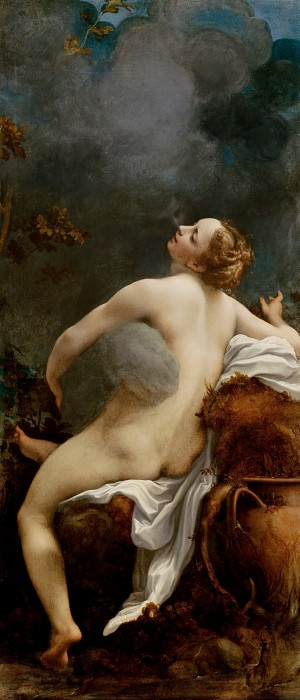 Correggio -- Jupiter and Io. Kunsthistorisches Museum