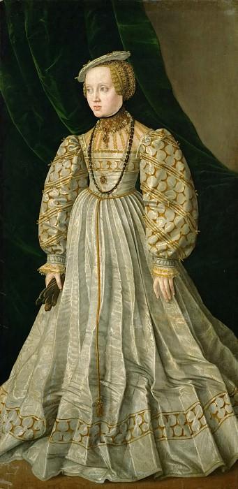Jacob Seisenegger (1505-1567) -- Archduchess Anna (1528-1590). Kunsthistorisches Museum