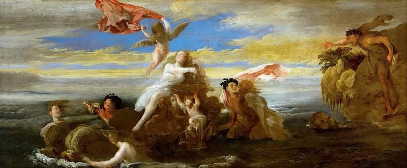 Доменико Фетти - Галатея и Полифем. Музей истории искусств