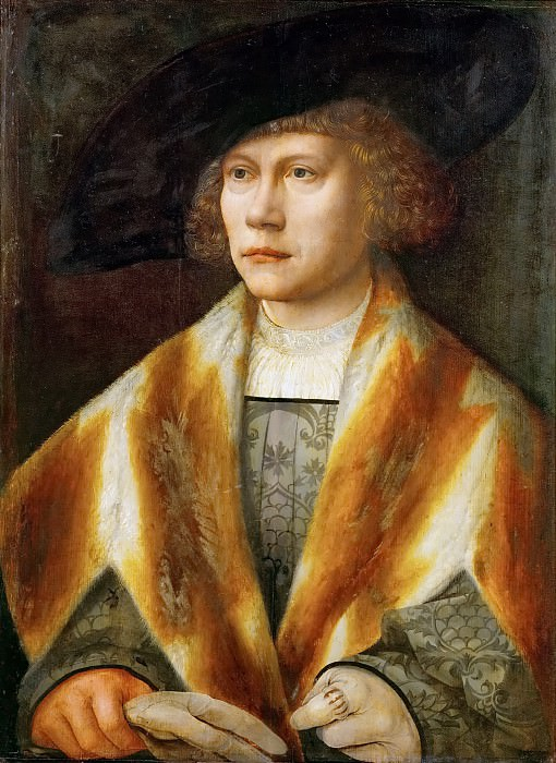 Bernaert van Orley -- Portrait of a Young Man. Kunsthistorisches Museum
