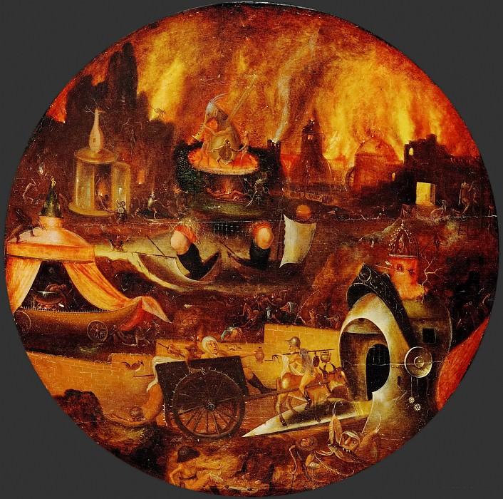 Herri met de Bles (c. 1510-after 1550) -- Hell. Kunsthistorisches Museum