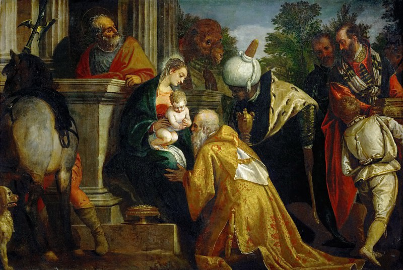 Paolo Veronese -- Adoration of the Magi. Kunsthistorisches Museum