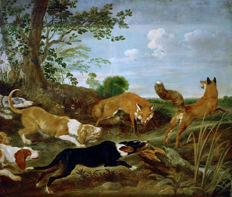 Paul de Vos -- Fox-hunt. Kunsthistorisches Museum