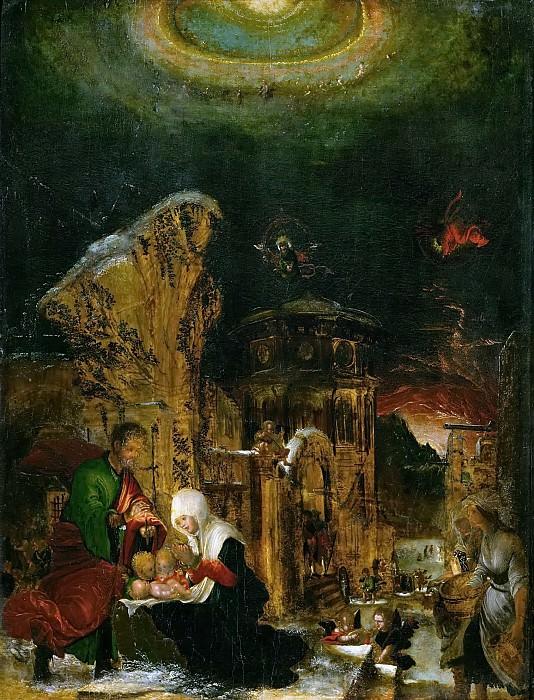 Albrecht Altdorfer -- Holy Night. Kunsthistorisches Museum
