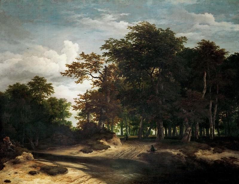 Jacob van Ruisdael (1628 or 1629-1682) -- The Big Forest. Kunsthistorisches Museum