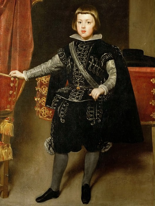 Diego Velázquez -- Portrait of Philip IV, King of Spain. Kunsthistorisches Museum