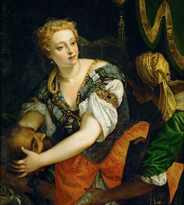 Paolo Veronese -- Judith with the Head of Holofernes. Kunsthistorisches Museum