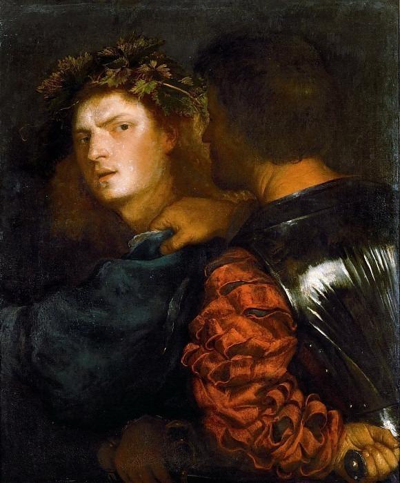 Titian -- The Brave (Il Bravo). Kunsthistorisches Museum