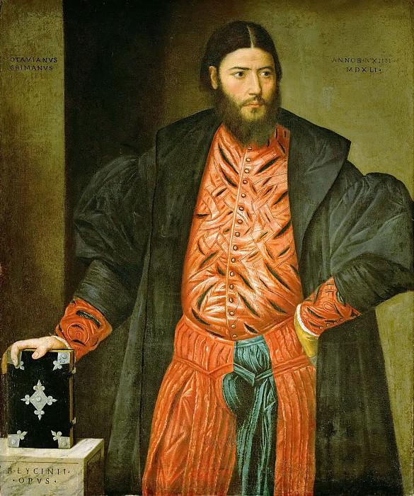 Бернардино Личинио - Оттавиано Гримани, прокуратор Сан Марко. Музей истории искусств