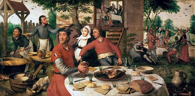40-03-01/30 PERIOD:MANNERISM PAINTING 16TH -- Aertsen,Pieter. Kunsthistorisches Museum