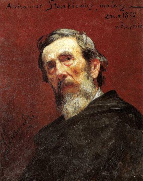 Портрет Александра Станкевича. 1892. Генрих Ипполитович Семирадский