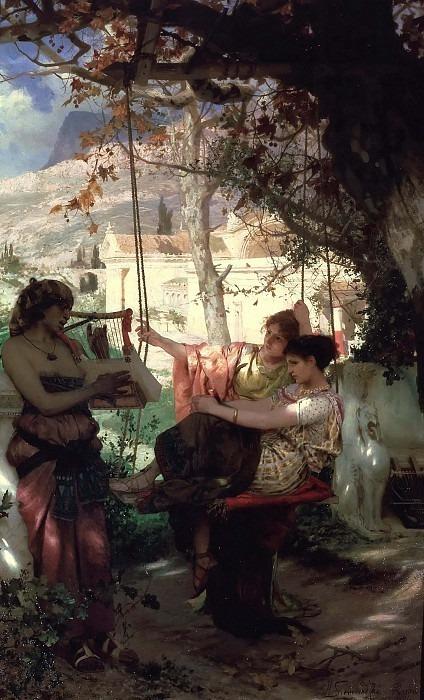 Song of slaves. 1884. Henryk Semiradsky
